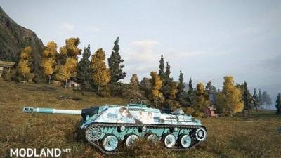 [BCSF] Kanonenjagdpanzer [blade arcus from shining] [pairon] skin 0.0 [1.5.0.4], 2 photo
